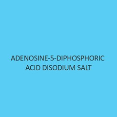 Adenosine 5 Diphosphoric Acid Disodium Salt