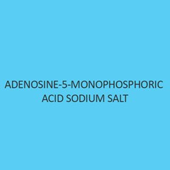 Adenosine 5 Monophosphoric Acid Sodium Salt