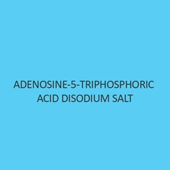 Adenosine 5 Triphosphoric Acid Disodium Salt
