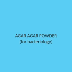 Agar Agar Powder For Bacteriology