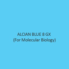 Alcian Blue 8 Gx For Molecular Biology