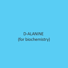D Alanine For Biochemistry