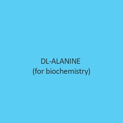 DL Alanine For Biochemistry