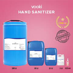 Vooki Hand Sanitizer Liquid