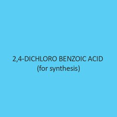 2 4 Dichloro Benzoic Acid (For Synthesis)