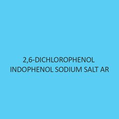 2 6 Dichlorophenol Indophenol Sodium Salt AR