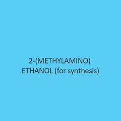 2 Methylamino Ethanol for synthesis