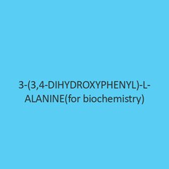 3 (3 4 Dihydroxyphenyl) L Alanine (For Biochemistry)