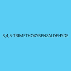 3 4 5 Trimethoxybenzaldehyde
