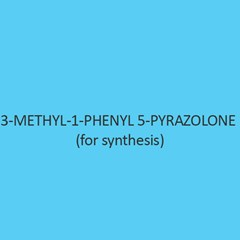 3 Methyl 1 Phenyl 5 Pyrazolone (For Synthesis)