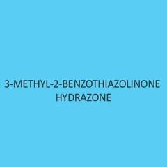 3 Methyl 2 Benzothiozolinone Hydrazone Hydrochloride AR