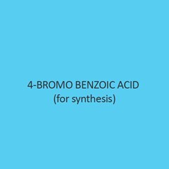 4 Bromo Benzoic Acid For Synthesis