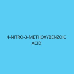 4 Nitro 3 Methoxybenzoic Acid