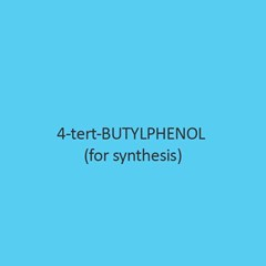4 Tert Butylphenol For Synthesis