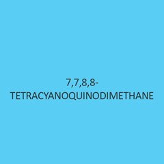 7 7 8 8 Tetracyanoquinodimethane