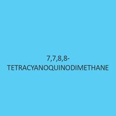 7 7 8 8 Tetracyanoquinodimethane