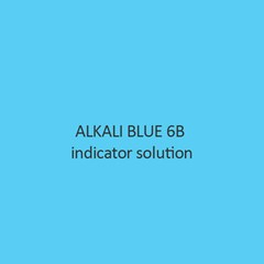 Alkali Blue 6B Indicator Solution