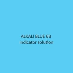 Alkali Blue 6B Indicator Solution