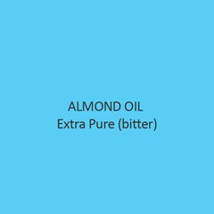 Almond Oil Extra Pure Bitter