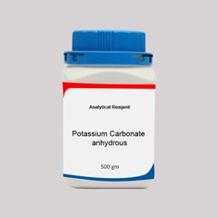 Potassium Carbonate anhydrous AR 500GM