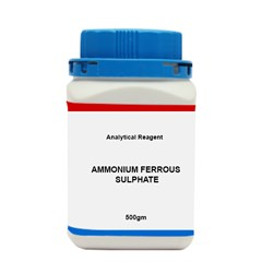 AMMONIUM FERROUS SULPHATE AR 500 GM