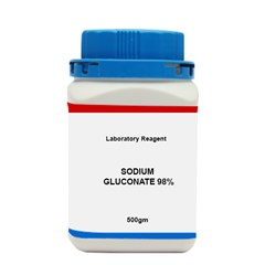 SODIUM GLUCONATE 98percentage LR 500GM