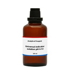 Universal indicator solution pH4 12 500 ML