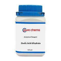 Oxalic Acid Dihydrate Ar 500Gm