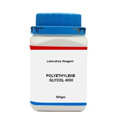 POLYETHYLENE GLYCOL 4000 LR 500 GM