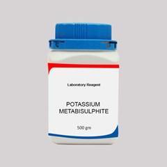 POTASSIUM METABISULPHITE LR 500GM