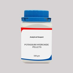 POTASSIUM HYDROXIDE PELLETS AR 500 GMS