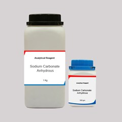 Sodium Carbonate Anhydrous AR