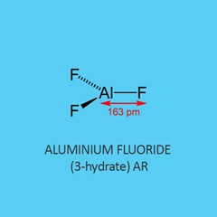 Aluminium Fluoride 3 Hydrate AR