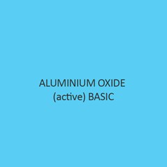 Aluminium Oxide Active Basic