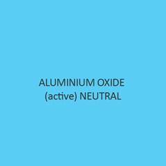 Aluminium Oxide Active Neutral