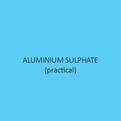Aluminium Sulphate practical iron free