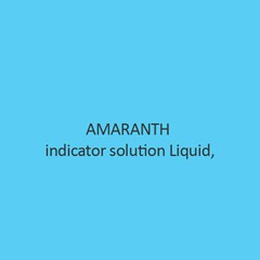 Amaranth Indicator Solution Liquid