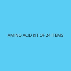 Amino Acid Kit Of 24 Items