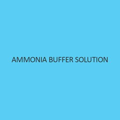 Ammonia Buffer Solution Liquid