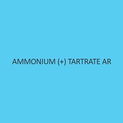 Ammonium + Tartrate AR