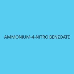 Ammonium 4 Nitro Benzoate