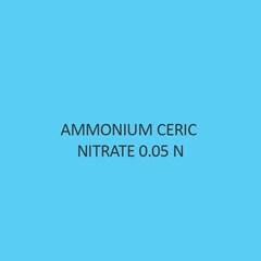 Ammonium Ceric Nitrate 0.05 N Volumetric Solution