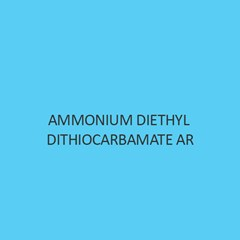 Ammonium Diethyl Dithiocarbamate AR