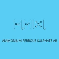 Ammonium Ferrous Sulphate AR