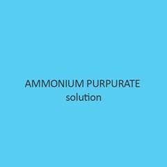 Ammonium Purpurate Solution