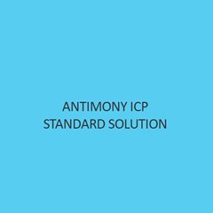 Antimony ICP Standard Solution 1000mg L In Nitric Acid