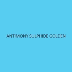Antimony Sulphide Golden