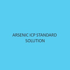 Arsenic ICP Standard Solution 1000mg L In Nitric Acid