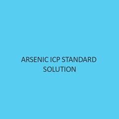 Arsenic ICP Standard Solution 1000mg L In Nitric Acid