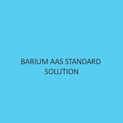 Barium AAS Standard Solution Liquid